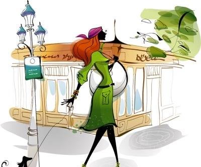 green coat toon